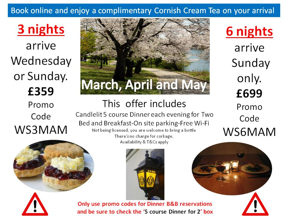 WSMAM March, April and May Hot Offers