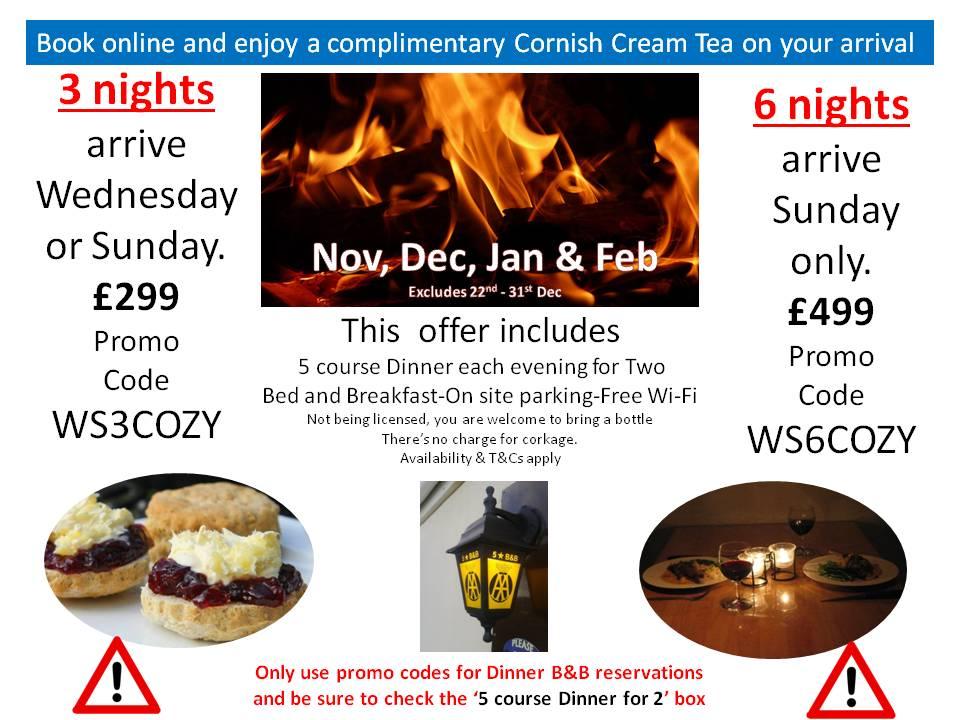 COZY21_22 November, December, January & February Hot Offers