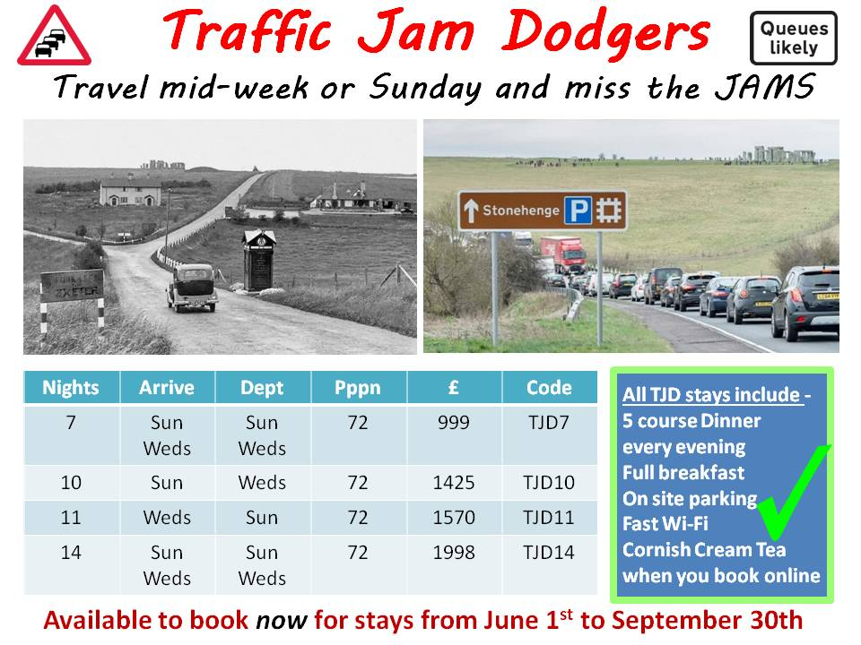TRAFFIC-JAM-DODGERS June, July, August and September Hot Offers